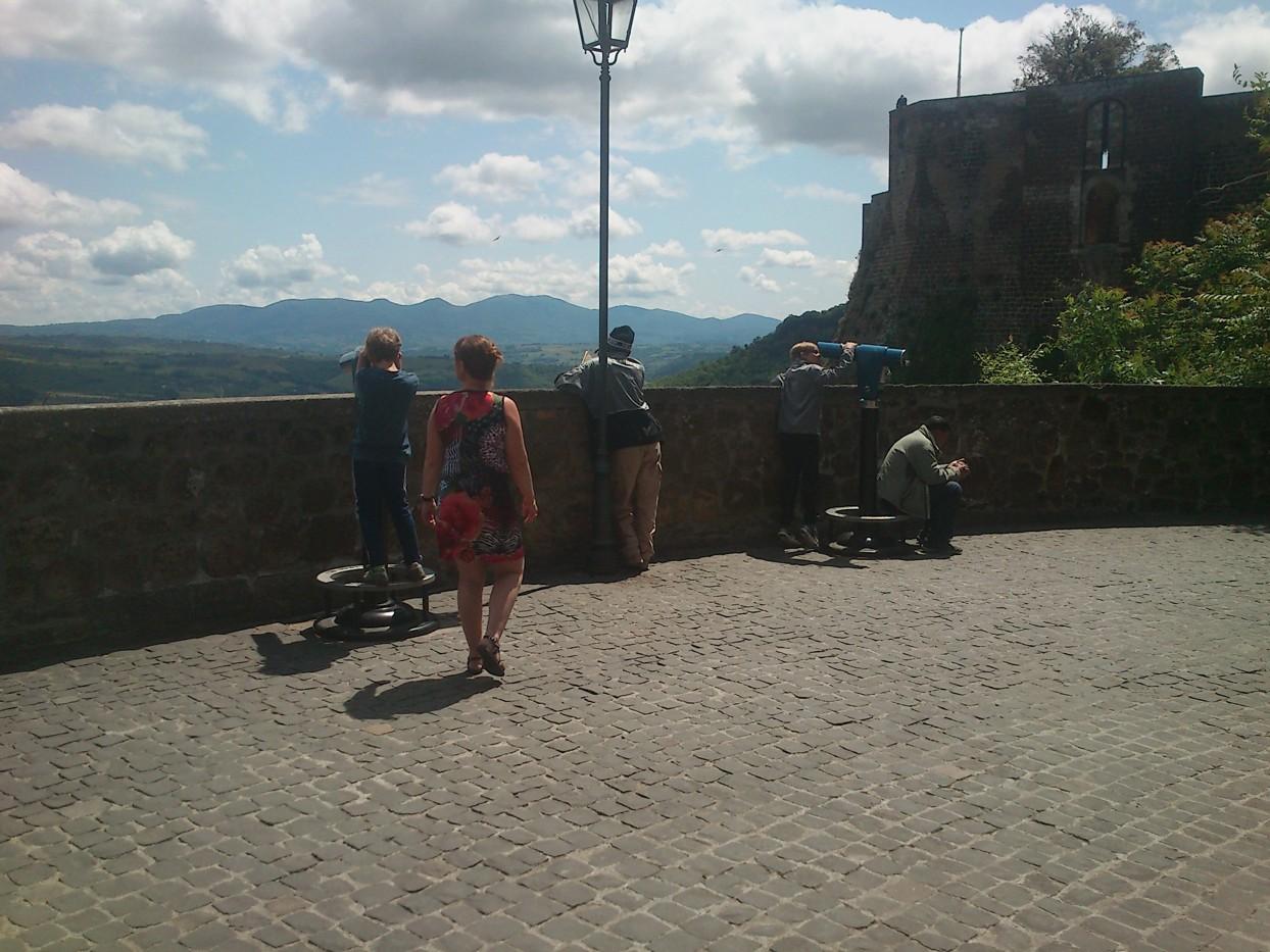 Ved Pozzo di San Patrizio (fotograferet af Martin)