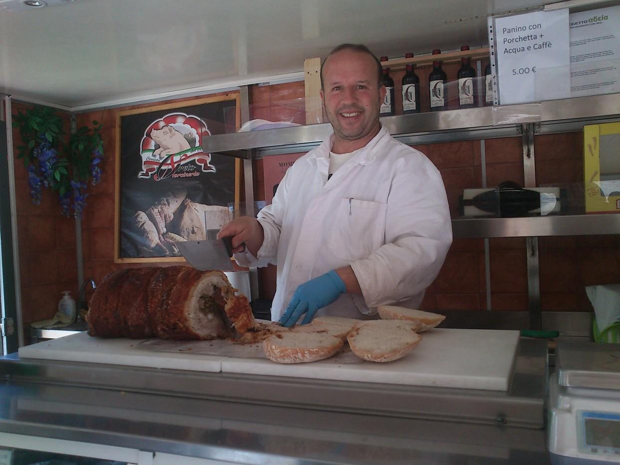 Den flinke slagter (fotograferet af Martin)