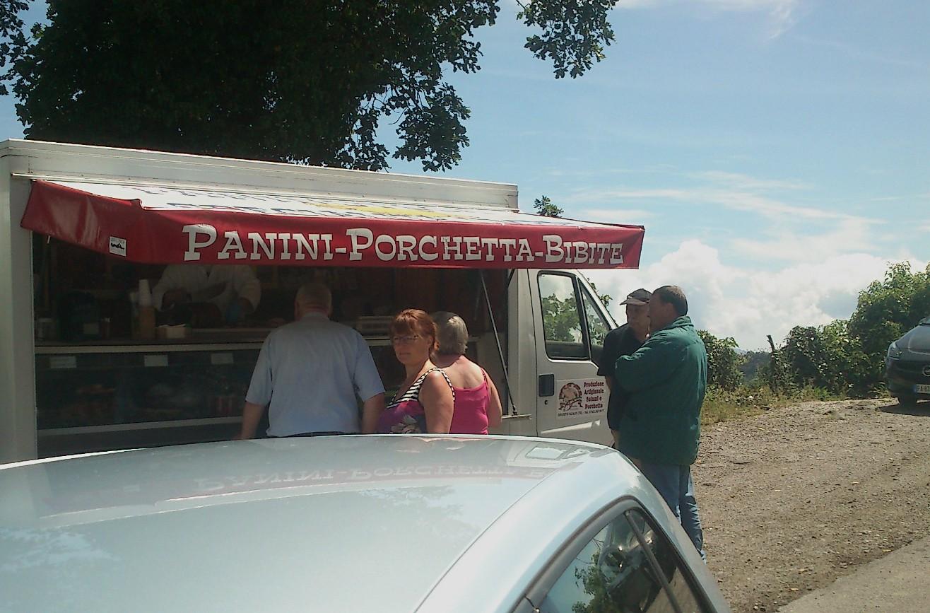 Panini con Porchetta (fotograferet af Martin)