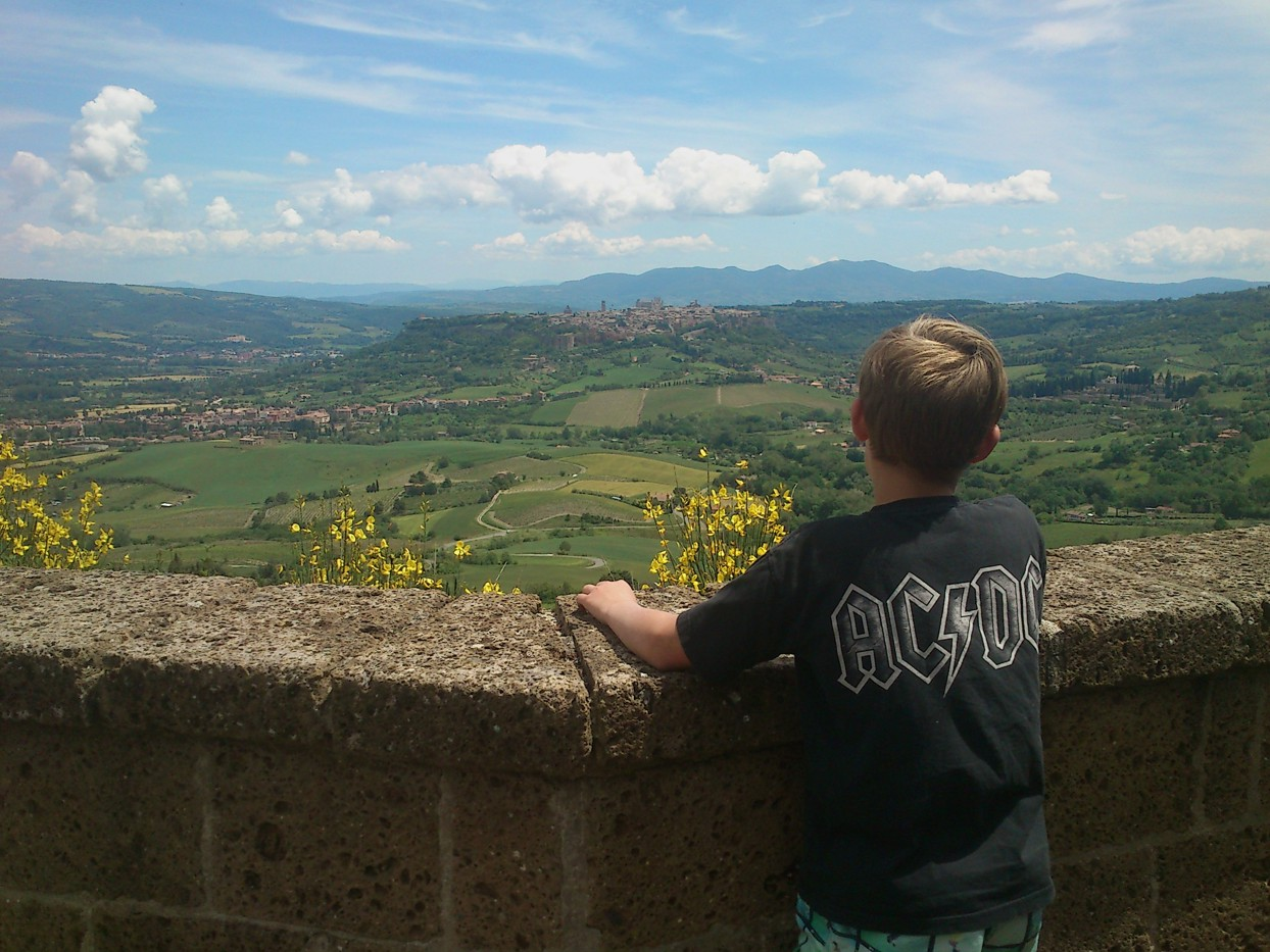 Rocca di Ripensena med Orvieto i baggrunden (fotograferet af Martin)