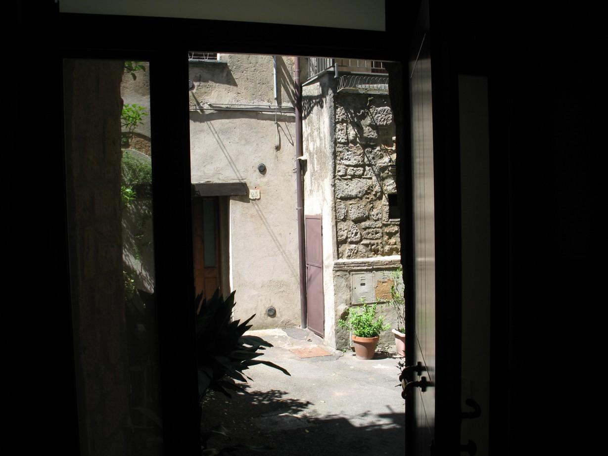 Udsigten fra indgangsdøren
