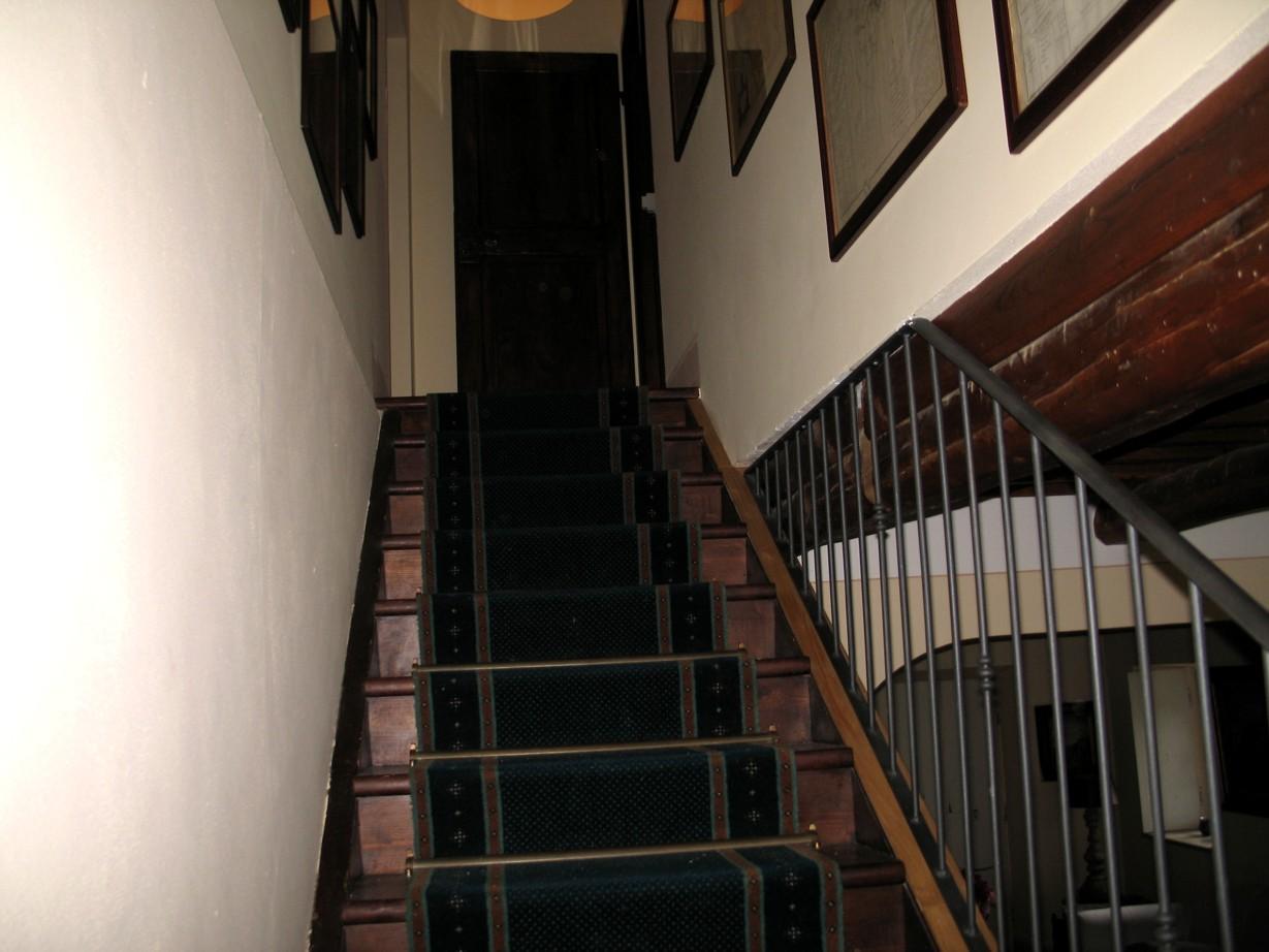 Trappen til første sal.